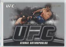 2010 Topps UFC Knockout Fight Mat Relic Silver #FM-GS George Sotiropoulos Card