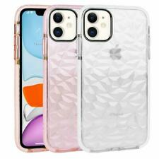 For iPhone X 7 8 Plus Clear Ultra-thin Hybrid Silicone Soft Diamond Case Cover