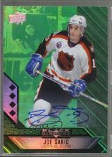 2014 Upper Deck Black Diamond Emerald Autograph Autographed #214 Joe Sakic Auto