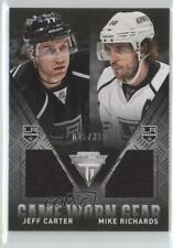 2013-14 Panini Titanium #GD-CR Jeff Carter Mike Richards Los Angeles Kings Card