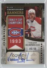 2016 Upper Deck Black Diamond #CB-VD Vincent Damphousse Montreal Canadiens Auto