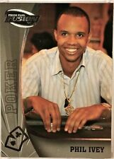 Phil Ivey 2009 Press Pass Wheels Main Event Fusion #81 Base, Bronze or Silver