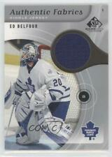 2005 SP Game Used Edition Authentic Fabrics AF-EB Ed Belfour Toronto Maple Leafs