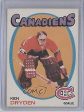 1971-72 O-Pee-Chee #45 Ken Dryden Montreal Canadiens RC Rookie Hockey Card