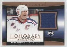2005-06 Upper Deck Trilogy Honorary Swatches HS-MM Mark Messier New York Rangers