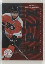 2013 Totally Certified Epix Memorabilia Red Play E-MRI Mike Richards Hockey Card