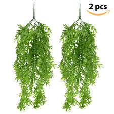 2pcs Artificial Hanging Vines Plants Ivy Greenery Faux Plants Wall Home Decor