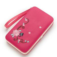 Fashion Women Embroidered Bag Clutch Wallet Coin Money Purse Bags New J