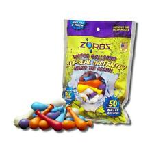 Zorbz Self-Seal Water Balloons, Pack of 50