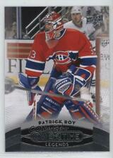 2015-16 Upper Deck GTS Overtime #42 Legends Patrick Roy Montreal Canadiens Card