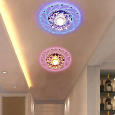 Artificial Crystal LED 3/5W Ceiling Light Fixture Pendant Lamp Lighting Sightly