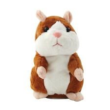 Talking Hamster Mimicry Pet Sound Record Repeat Electronic Stuffed Plush Toy