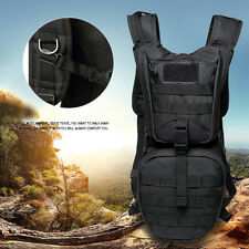 Outdoor Camping Hiking Tactical Backpack Hydration Pack + 3L Water Bladder Sight