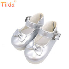 Tilda 5.6cm Butterfly Design Bow Tie Doll Shoes For Paola Reina Corolle Dolls