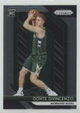 2018 Panini Prizm 246 Donte DiVincenzo Milwaukee Bucks RC Rookie Basketball Card