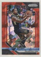 2018 Panini Prizm Red Ice 249 Wilson Chandler Philadelphia 76ers Basketball Card