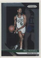 2018-19 Panini Prizm #25 Bill Russell Boston Celtics Basketball Card