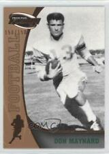 2009 Press Pass Fusion Bronze #59 Don Maynard Texas-El Paso Miners Card