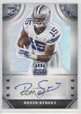 2014 Panini Crown Royale Rookie Signatures/299 #S-DS Devin Street Auto Card