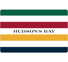 Hudson's Bay Gift Card $25, $50, or $100 - Email Delivery