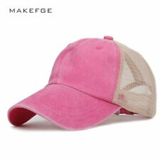 MAKEFGE®Hats New Solid Color Men And Women Baseball Cap Summer Outdoor Shade