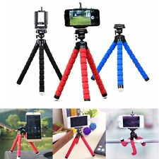 Universal Octopus Stand Tripod Mount Holder For iPhone Samsung Cell Phone Camera