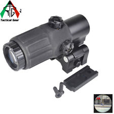 Aim ET Style G33 3X Magnifier Tactical Rifle Scope Red Dot Reflex Sight scope
