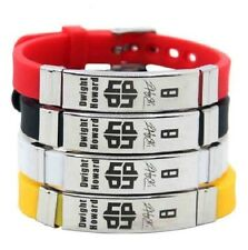 Dwight Howard Basketball Bracelet Silicone Stainless Steel adjustable Wristband