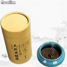 120Pcs/box High Quality Sandalwood Incense Coil Natural Scent Aroma For Yoga