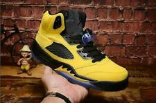 Fashion Men's Air J 5 Retro High Top Breathable Basketball Shoes Sport Size 7-13