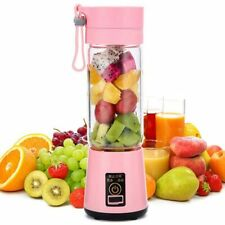 Portable Size USB Electric Fruit Juicer Handheld Smoothie Maker Blender