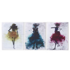 Watercolor Fashion Girl Abstract Art Canvas Print Oil Painting Poster Wall