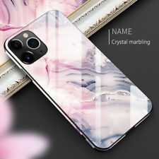 Luxury Marble Tempered Glass Case Cover For  iPhone 11 X XS XR Max 10 8 7 6s 6