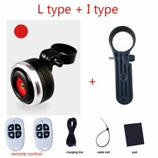 Bicycle Bell Electric Horn With Alarm Loud Sound For Bike Handlebar Anti-theft