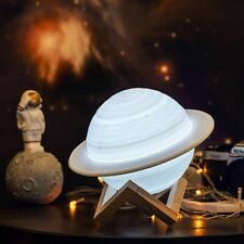 3D Printing Saturn Lamp Home Decoration LED Night Light Remote Control Christmas