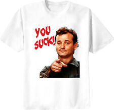Bill Murray You Suck T Shirt White