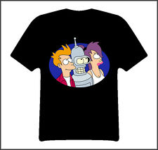 Futurama tv show t shirt Black