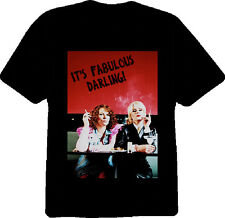 Absolutely Fabulous Logo TV Show T Shirt Black