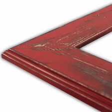 Ashley-Colonial Red Picture Frame-Solid Wood-New