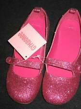 Gymboree CANDY SHOPPE Pink Sparkle Glitter MARY JANES Shoes  3