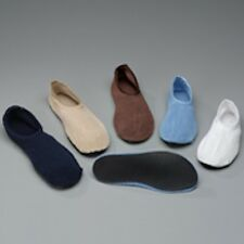 NON-SKID SLIPPERS WITH  RUBBER SOLES BY POSEY