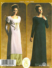Simplicity 4055 Regency Era Gown Pattern