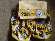 PITTSBURG STEELERS BOWLING SHOE COVERS/W/ MICRO TOWEL