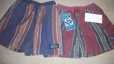 Cotton Board Shorts Boys Distressed Stripe Var sizes