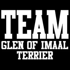 Team Glen Of Imaal Terrier T-Shirt cute puppy dog gift