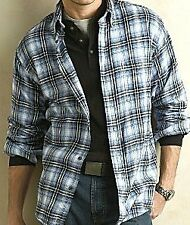 ST.John's Bay Cotton Flannel Shirt MSRP $30 sz. M-4XL