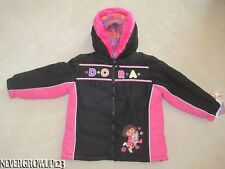 LITTLE GIRLS TODDLER DORA THE EXPLORER WINTER COAT~JACKET~3T~4T~NWT