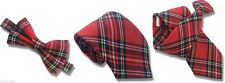 Royal Stewart Tartan Tie Bow Ties and Accessories