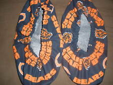 CHICAGO BEARS PRINT BOWLING SHOE COVERS-MED, LG OR XL