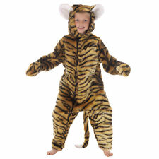 Boys Girl Big Cat Tiger African Safari Fancy Dress Halloween Fancy Dress Costume